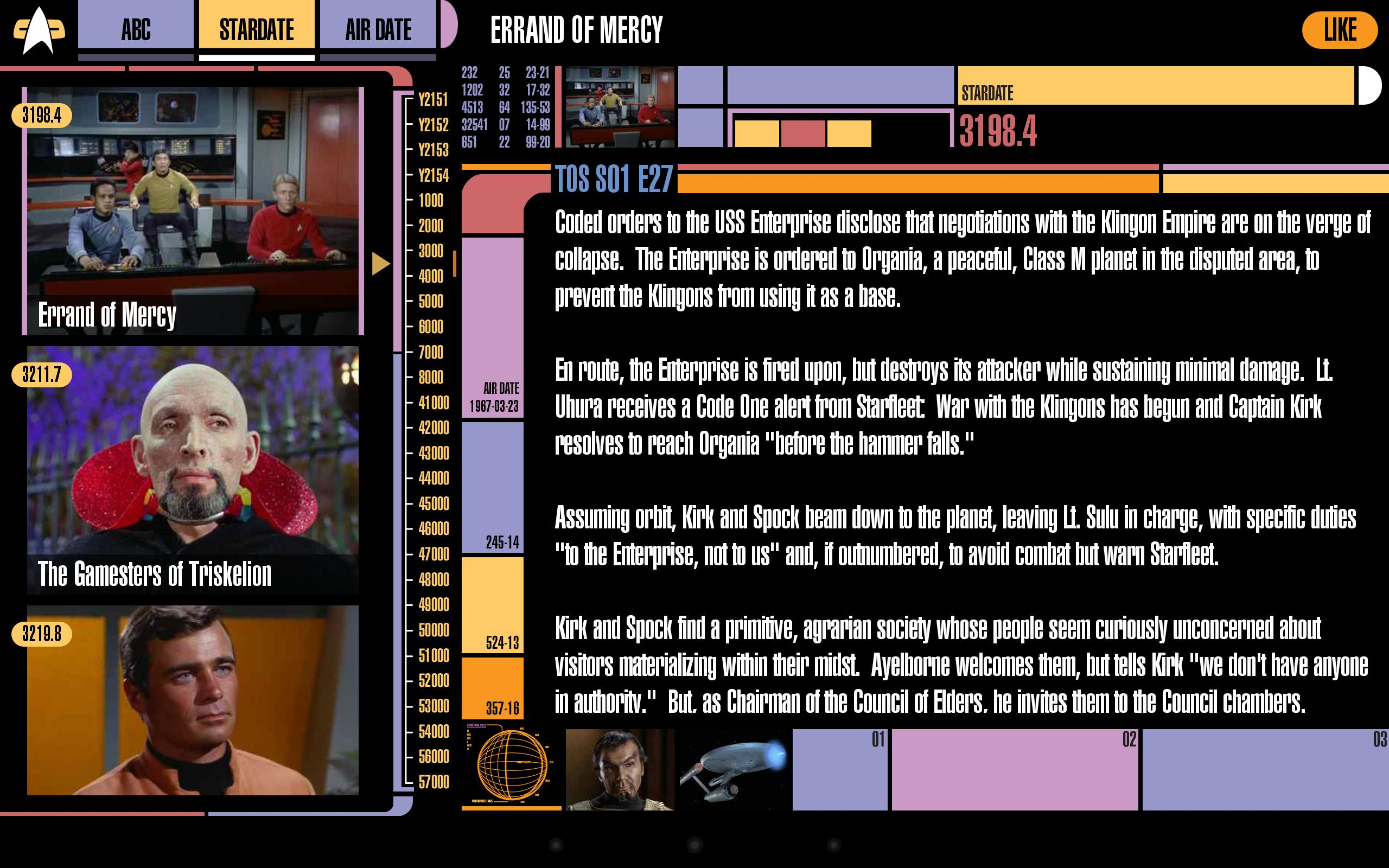 Trek Episode Guide for Android - APK Download