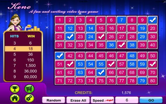 Keno Gold Casino-Land Free screenshot 9