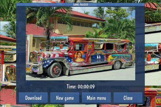 Tile Puzzles · Buses apk screenshot