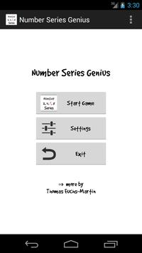 Number Series Genius poster