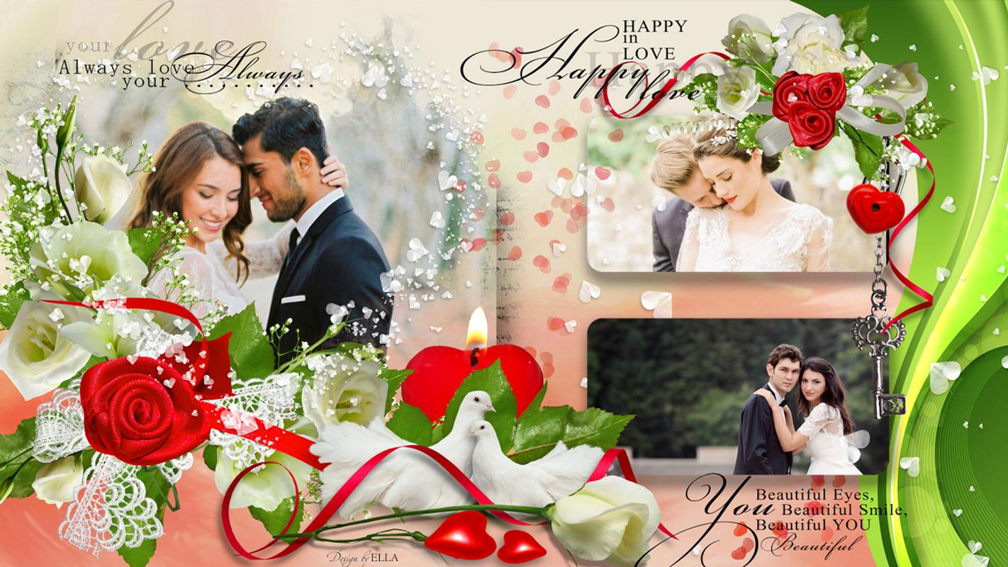 Romantic Wedding Photo Frames: Couple Photo Editor APK Download ...