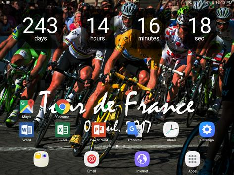 Countdown Tour de France apk screenshot
