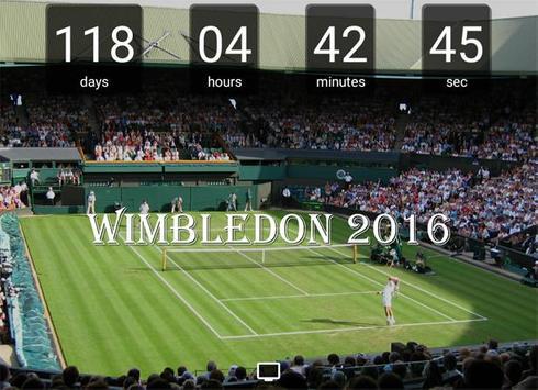 Countdown Final Wimbledon 2016 poster