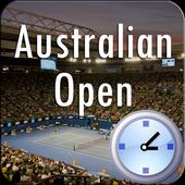 Countdown for Australian Open icon