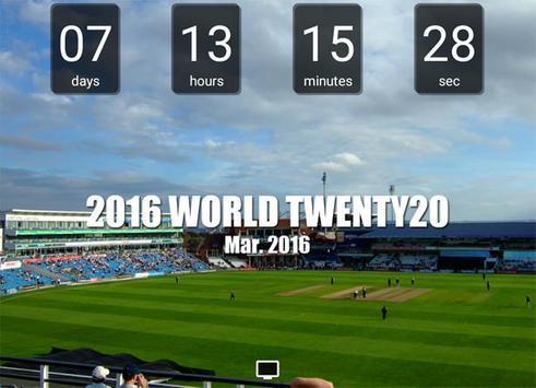 World Twenty20 Countdown apk screenshot