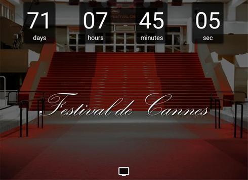 Countdown Festival de Cannes apk screenshot
