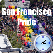 SF Gay Pride Countdown icon