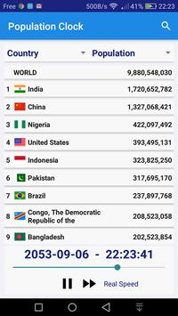World Population Clock apk screenshot