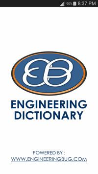 Engineering Dictionary (Free) poster