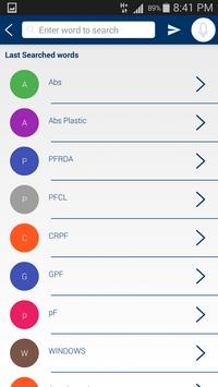 Engineering Dictionary (Free) apk screenshot
