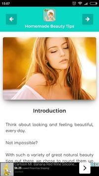 Homemade Beauty Tips screenshot 2