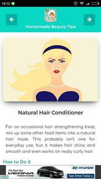 Homemade Beauty Tips screenshot 3