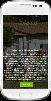Mas de la Grenouillère apk screenshot