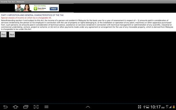 Income Tax Act of Malaysia screenshot 3