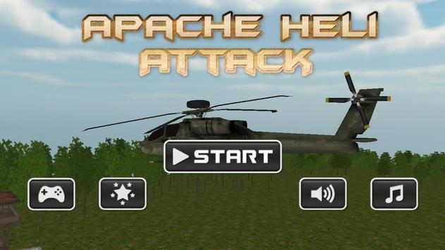Apache Heli Attack poster