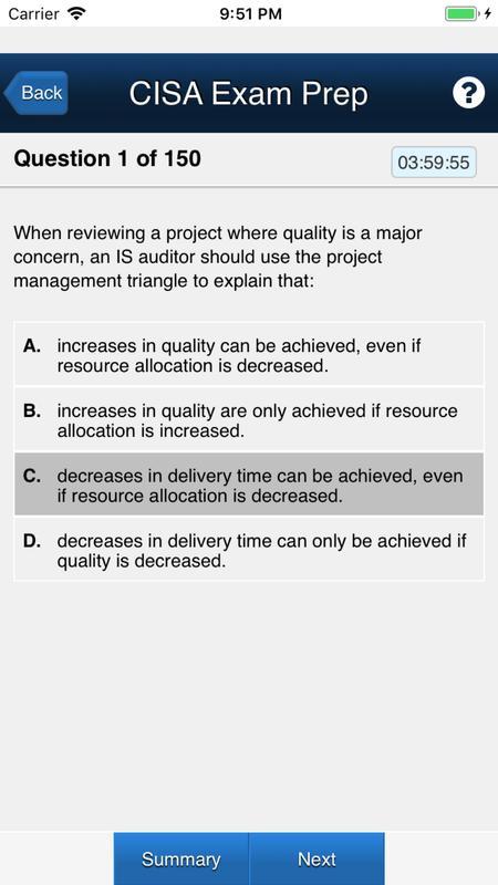 Amazon. Com: cisa exam prep: certified information systems auditor.