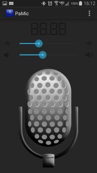 PaMic - Bluetooth PA system screenshot 1