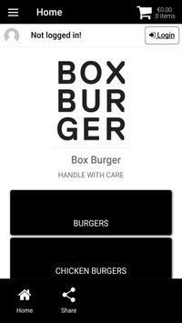 Box Burger poster