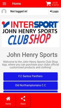 John Henry Sports poster