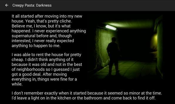 Creepy Stories apk screenshot
