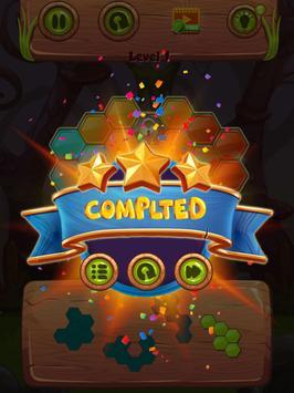 Hexa Jewel block Puzzle Mania screenshot 2