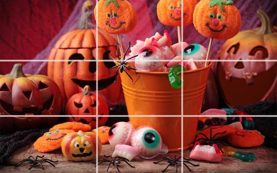 Puzzle - Halloween screenshot 13