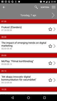 Marknadschefsdagarna 2016 apk screenshot