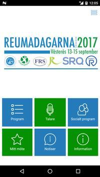 Reumadagarna 2017 poster