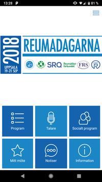 Reumadagarna 2018 poster