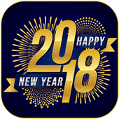 New Year Photo Frames - 2018 icon