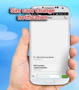 Sim Card Change Informer apk screenshot