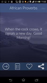 African Proverbs : Wise Saying screenshot 1