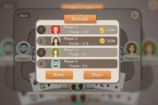 Callbreak Game : Multiplayer screenshot 2