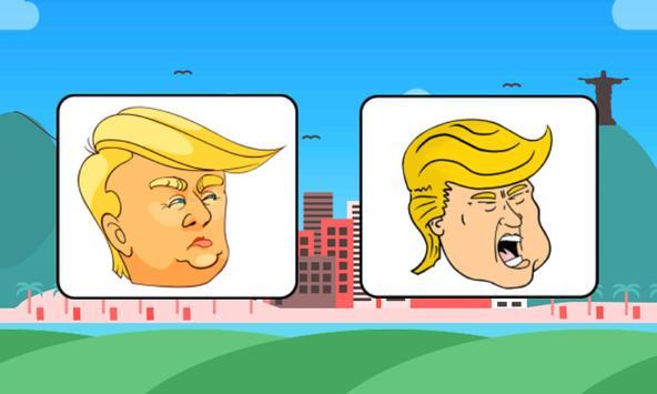 Trump Run : Trump Dump screenshot 1