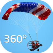Sky Diving Simulator | 360 VR icon
