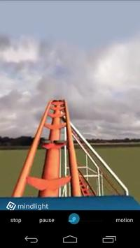 RollerCoaster Simulator 360 VR apk screenshot