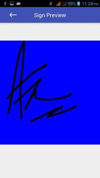 Signature screenshot 5