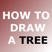 HOW TO DRAW A TREE icon