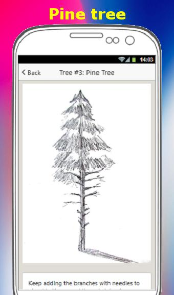 HOW TO DRAW A TREE poster