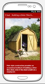 HOW TO BUILD A SHED poster