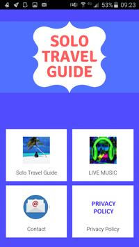 Solo Travel Guide poster