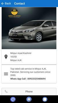 Mirpur Cab Service screenshot 1