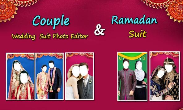 Couple Wedding Suit Photo Editor poster