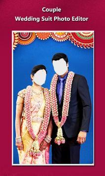 Couple Wedding Suit Photo Editor apk screenshot