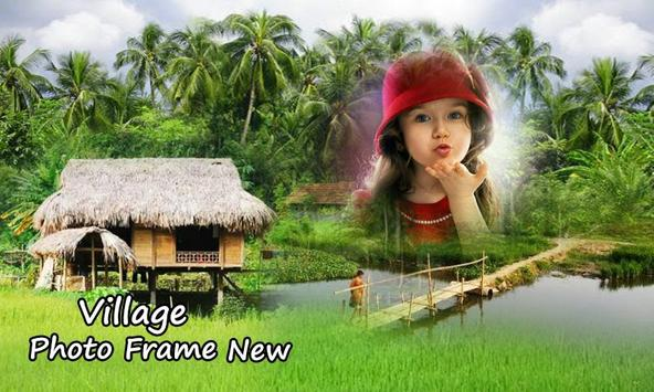 Village Photo Frame New poster