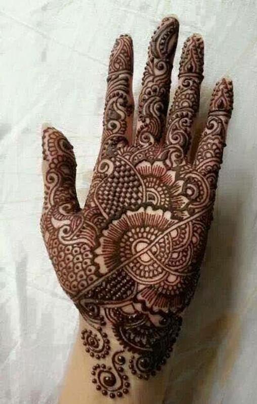 Fancy Mehndi Design: Latest And Fancy Bridal Mehndi Designs