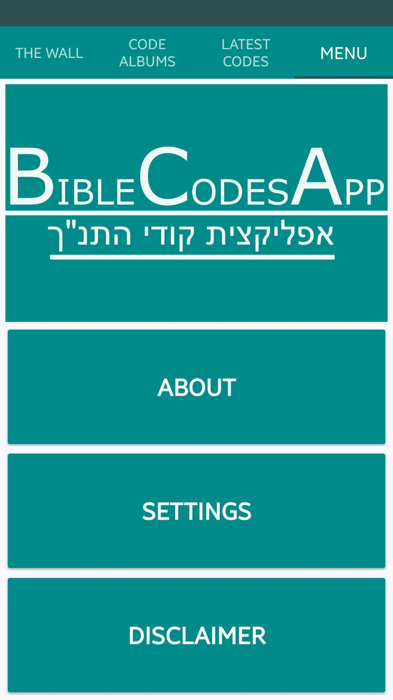 Bible Codes App for Android - APK Download