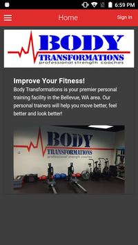 Body Transformations poster