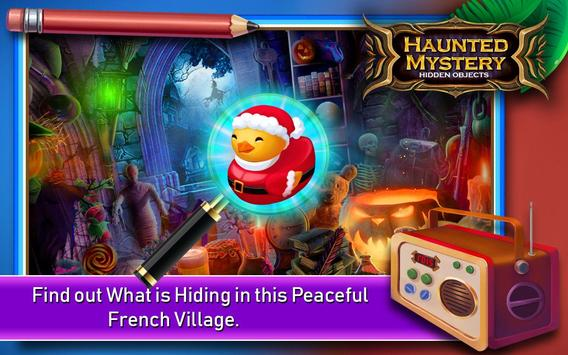 Hidden Object Games 200 Levels : Haunted Mystery poster
