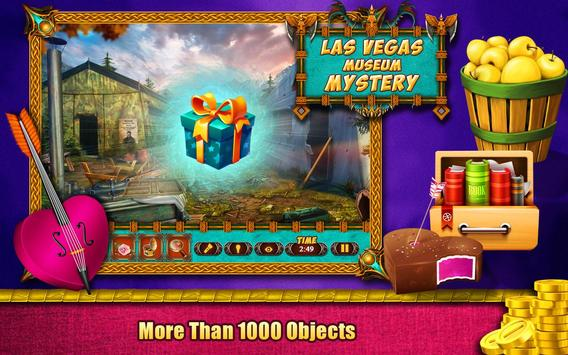 Hidden Object Games 200 Levels : Las Vegas Museum screenshot 1